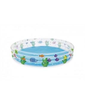 Detský nafukovací bazén morský svet 183 x 33 cm
